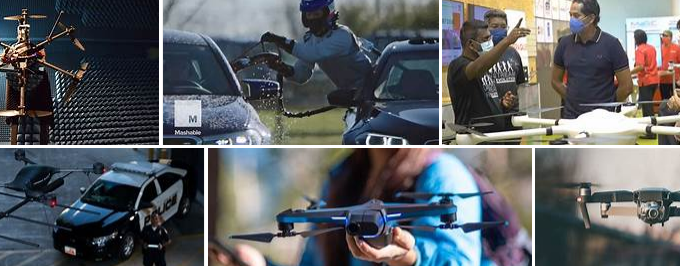 Professional Drones Could Bolster Public Security